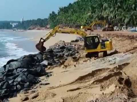 Work is Progressing at Vizhinjam.......
