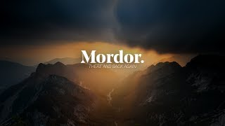 I Went To Mordor - Landscape Photography Blog | Triglav National Park Slovenia
