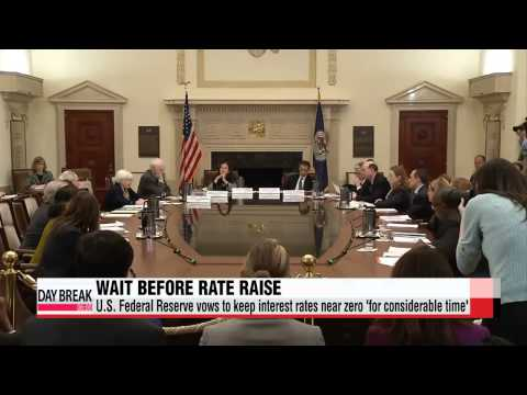 U.S. Federal Reserve vows to keep interest rates near zero ′for considerable tim