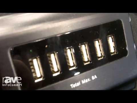 InfoComm 2014: BlueKi Illustrates the 6 Port USB Wall Charger