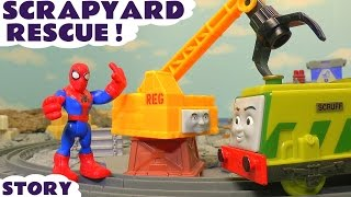 Thomas & Friends Toy Trains Episode for Kids with Spiderman - Train Toys for kids toy story TT4U