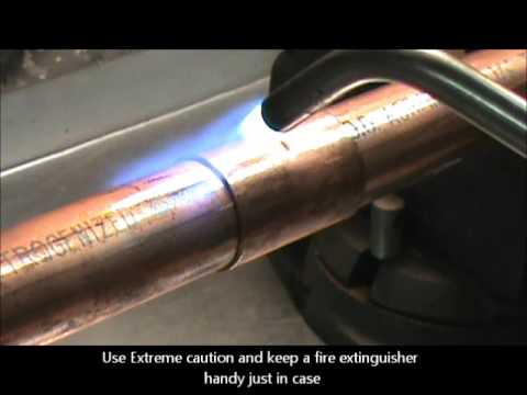 My DIY Brazing Refrigerant Copper Piping