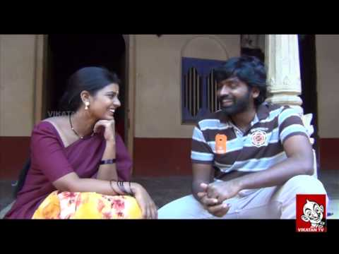 Vijay Sethupathi's Galatta at Rummy Shooting Spot | Vikatan TV