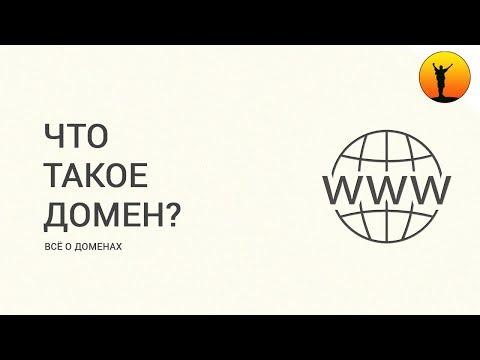 Что такое домен (доменное имя) сайта и зачем он нужен?