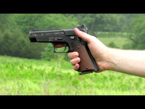 Shooting the Wolf SV Ultramatic semi-auto Austrian pistol
