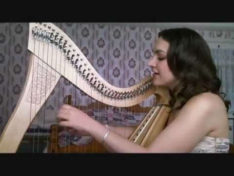 Aude Gagnier - If I Was A Blackbird (harp And Voice) video