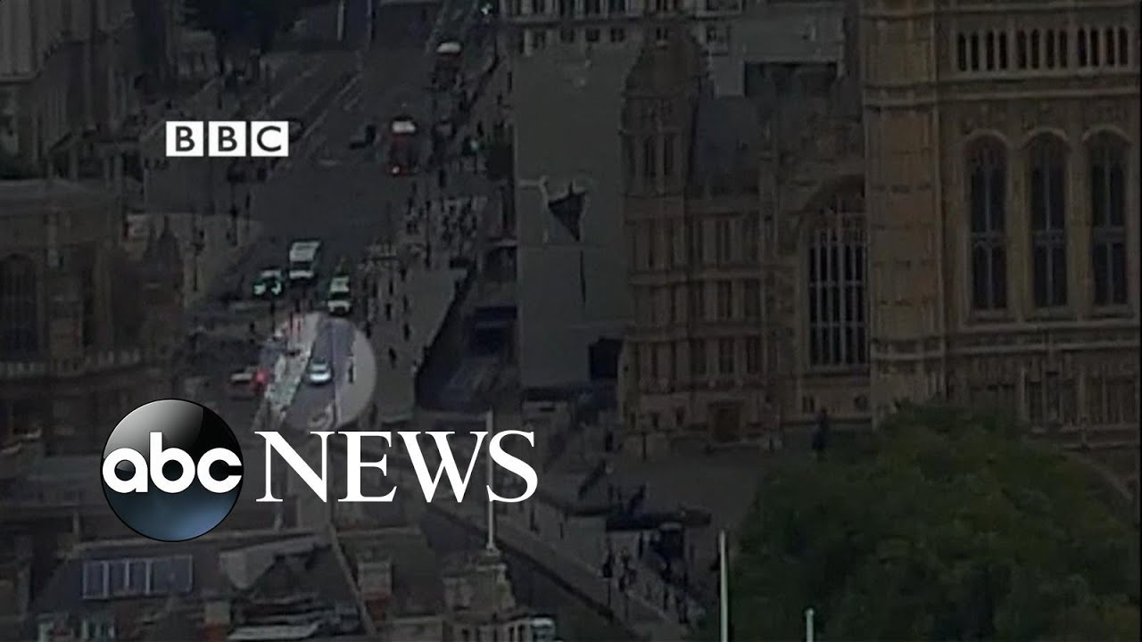 Driver suspected of terrorism after car crashes into a barrier near UK Parliament