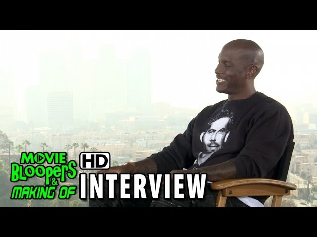 Furious 7 (2015) Official Movie Interview - Tyrese Gibson