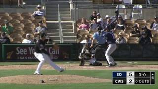 Carson Fulmer - Spring Training Outing - 4 Strikeouts