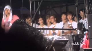 121125 SMT BKK - EXO jamming along to Catch Me