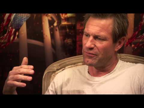 Gerard Butler & Aaron Eckhart on Olympus Has Fallen Part 2