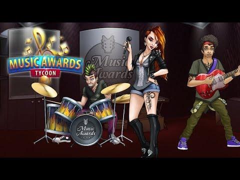 Обзор Music Awards Tycoon! Раскрутка собственной рок-группы! 🎸😀