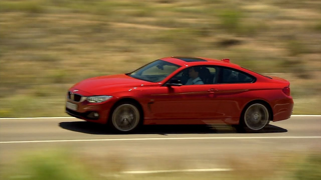 New 2014 Bmw 4 Series Driving 435i Sport Line Youtube