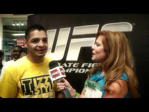 UFC FIGHTER LEONARD GARCIA TALKS ABOUT HIS UFCONFX3 FIGHT