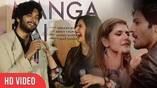 Ali Fazal And Zareen Khan About The Hot Love Making Scenes | Pyaar Manga Hai Video Song