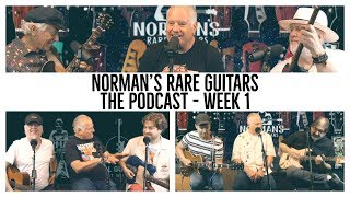 The Podcast - Week 1: The NRG Crew, Don Peake, Dweezil Zappa & James Santiago