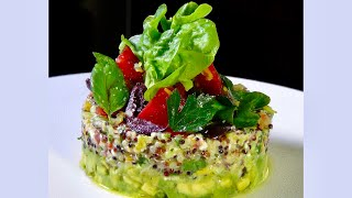 Quinoa Salad w/ Lemon Confit– Bruno Albouze – THE REAL DEAL