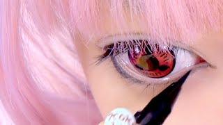 Naruto's SASUKE COSPLAY MAKEUP TUTORIAL how-to by Japanese kawaii model|??????????????????