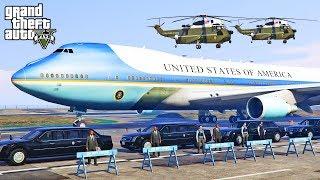GTA 5 - Escorting President Donald Trump to FBI Meeting (Cadillac Beast Mod!)
