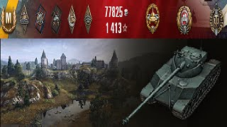 World of Tanks - Bat.-Châtillon 25 t | 8814 Damage & Ace Tanker | Subscriber Replay (Zjakatund) #47