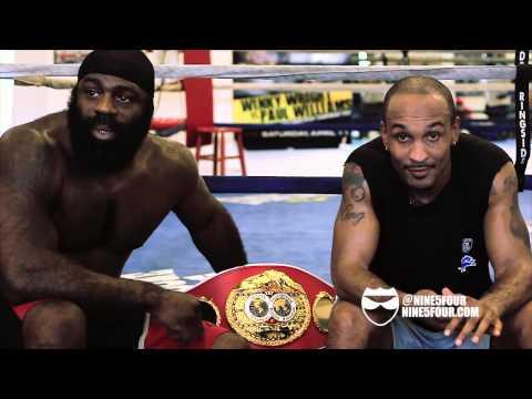 Randall Bailey and Kimbo Slice Talk Devon Alexander