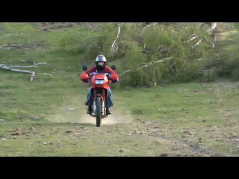 honda nx 650 dominator offroad ride Video
