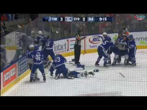 Crunch at Marlies Melee Mar 26, 2017