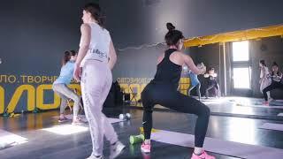 Dance Fitness. Анна Свиридова. Фитнес-марафон 9Z на Беломорской 31/03/19
