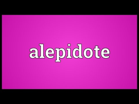 Header of alepidote