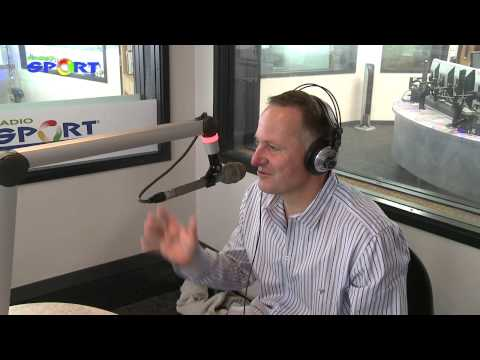 Radio Sport - John Key wraps up 2012 with Tony Veitch