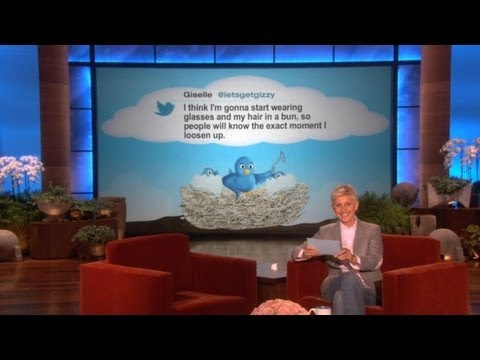 Follow Ellen's Weekly Tweetly Roundup