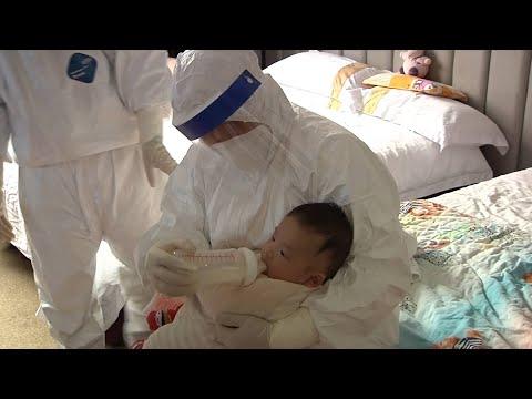 """Coronavirus fight: """"Nurse mothers"""" at isolation points"""