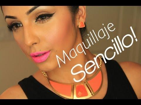 Maquillaje sencillo/look facil