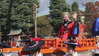 紅葉の京都に朝鮮通信使