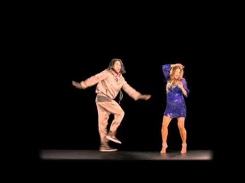 Black Eyed Peas hologram (Fergie and Taboo for NRJ Awards 2011)