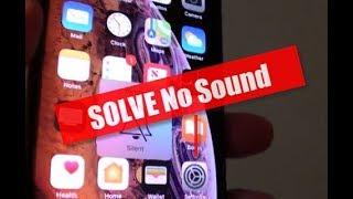 iPhone XS: Five Ways to Fix No Sound / Audio Problem