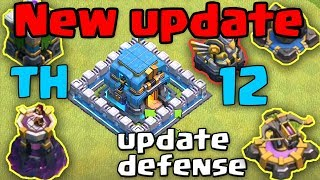 New Town Hall 12 Update Giga Tesla All defense || Clash Of Clans TH12