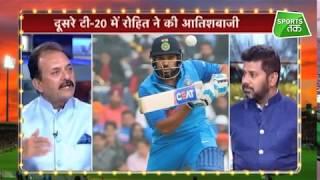 आजतक शो पर मदनलाल ने कहा ऊपर बल्लेबाजी करने का मौका देने से टेस्ट में भी हिट होंगे Rohit Sharma