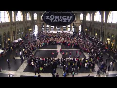 Z�RICH TANZT - Flashmob
