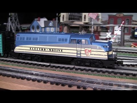Here's the last of my oldie but goodies, the last of the PS1 diesels that I have never before shown in one of my videos. This MTH Premier model of the EMD BL...