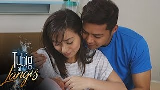 Tubig at Langis: Irene and Natoy welcome their baby