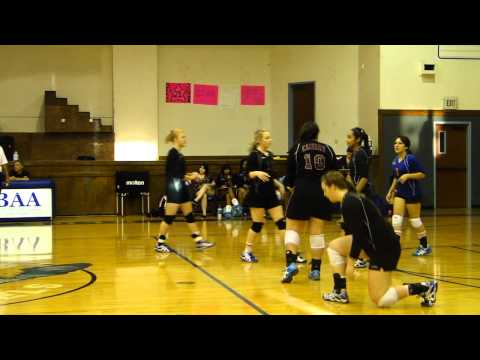 Calvary Christian Academy Lady Conqueror Volleyball 9/21/10