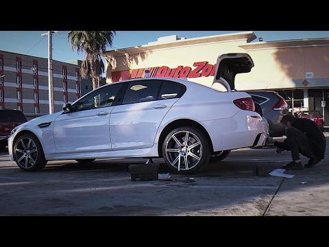 Разбираем BMW M5 на паркинге в США, сдача машины в лизинг, выводы