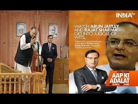 Aap Ki Adalat - Arun Jaitley, Full Episode
