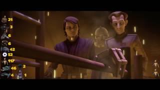 Star Wars The Clone Wars Season 3 Droid Death Count
