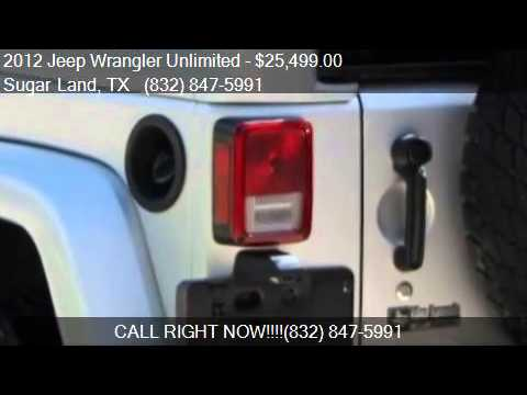 2012 Jeep Wrangler Unlimited Arctic for sale in Sugar Land,