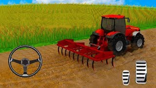 Tractor Farming Driving Simulator Play Game Video For Kids FHD
