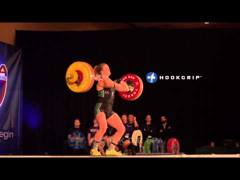 Maddy Myers (-58) - 108kg Junior American Record