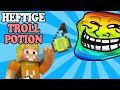 HEFTIGSTE TROLL POTION ★ LUCKY BLOCK BATTLE ★ Minecraft Luc...