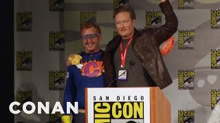 Conan Crashes Comic-Con  - CONAN on TBS